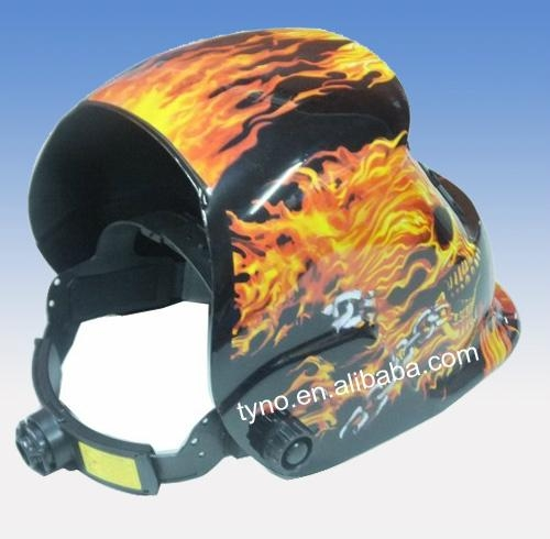 Auto darkening welding mask 4