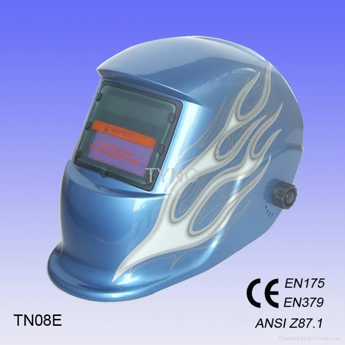 Auto darkening welding mask 1