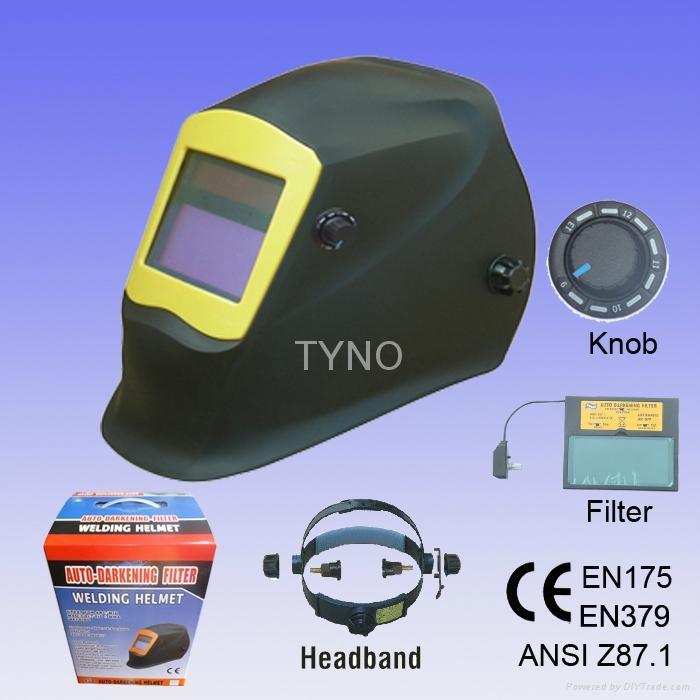 Auto darkening welding helmet 2