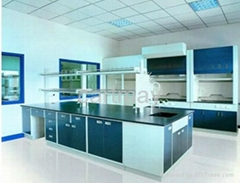 chemistry laboratory worktable