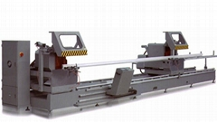 KT-383FD CNC Double Mitre Saw for aluminum curtain wall profile
