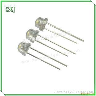 供應led插件白光燈珠 2