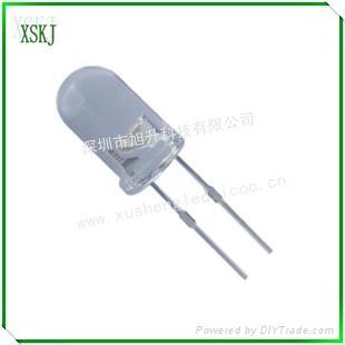 供應led插件白光燈珠 3