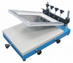 Manual solder paste printing station
