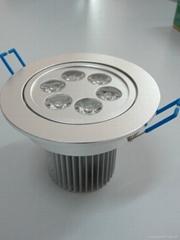 LED天花灯6*1W