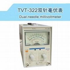 Dual-needle Millvoltmeter