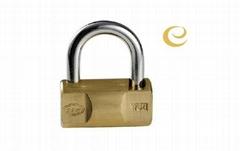 hammer type brass padlock