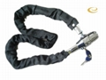 safe chain alarm lock for motorcycle &