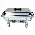 Winware 8 Qt Stainless Steel Chafer Full Size Chafer