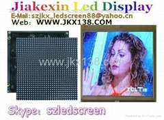 P6 Indoor full color LED display rental