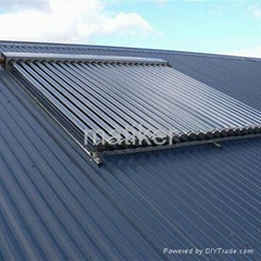 solar heat pipe collector solar water heater