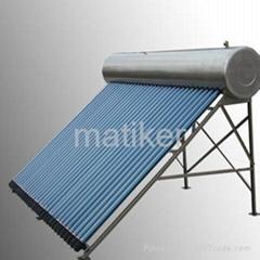 全不鏽鋼太陽能熱水器