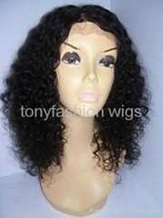 14 Inch fashion Curly Lace Front Wig