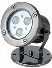 IP68 Stainless steel underwater led lights for fountains