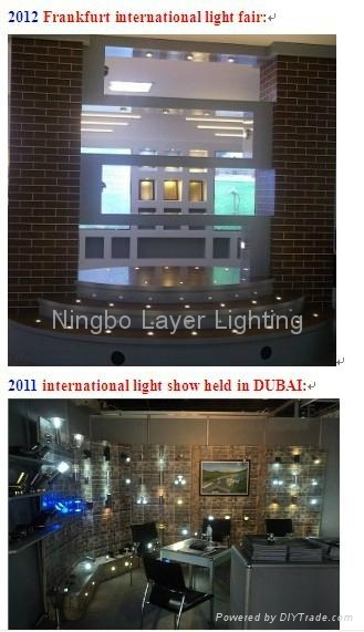 IP44 Stainless steel and aluminum CE FCC ROHS solar led wall lamp 4