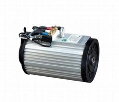 Electric vehicle AC motor