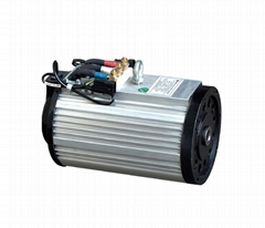 Low voltage AC motor in forklift