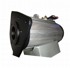 AC motor in electric vehicle such as golf carts