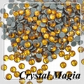 dark amber strass for shoes decoration