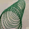 stainless steel razor barbed wire/concertina wire 3