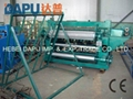 Electric welded mesh machine