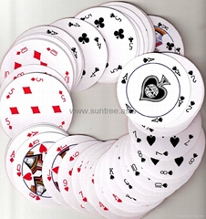 Special shape playing card stsp-005
