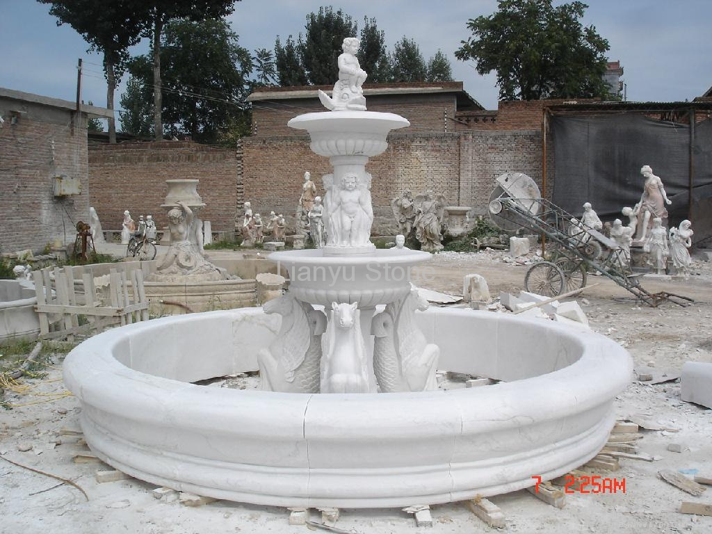 Marble Fountain - 004 - Lianyu Stone (China) - Other Construction ...: diytrade.com/china/pd/10720483/marble_fountain.html
