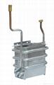 balanced type copper heat exchanger for