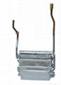forced-exhaust heat exchanger in copper