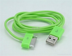 Colorful USB Cable for iPad iphone ipod