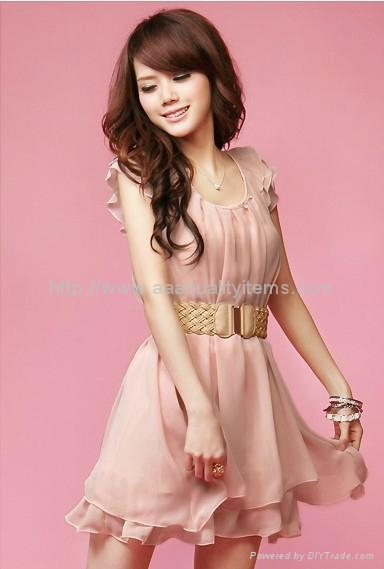 Wholesale Cheap Korea Style Fashion Girl Summer Dress 80962 No Brand China Ceremonial
