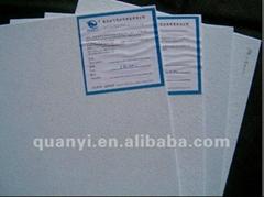 shoe toe puff, chemical sheet