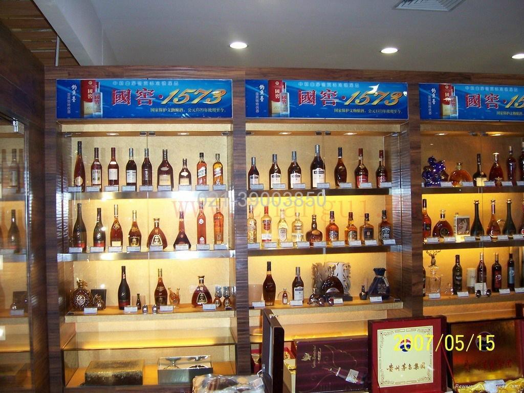 上海煙酒展櫃 4