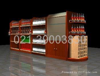 上海煙酒展櫃 5