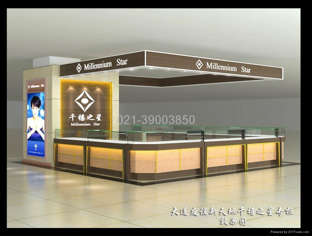 上海首飾展櫃 1
