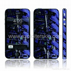 mobile phone skin sticker for IPHONE4