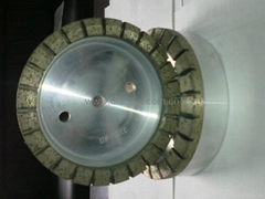 Double machinery diamond wheels