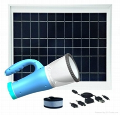 portable and multifunctional Solar Emergency led light