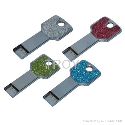 Metal Key USB Flash Drive with High Speed UDP Chipset 4