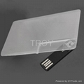 Credit Card USB Drive with Both Sides 3-D/True Color Imprint 5