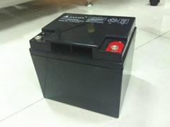 off-grid application battery 12V38AH