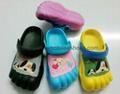eva five finger kid clogs shoes