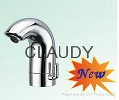 Saving water sensor faucet