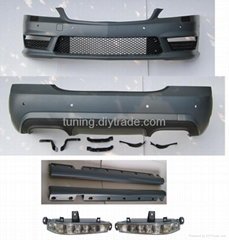 AMG 65 bodykit for Mercedes-Benz W221(2009-2012 style)