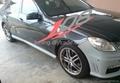 AMG E63 style bodykit for Mercedes-Benz W212 E-class 3