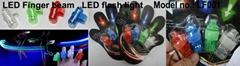 LED Luminous Finger Beams