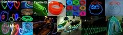 Flexible luminous EL Wire
