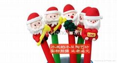 Christmas gift Polymer clay ballpoint pen
