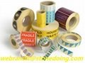 Adhesive Label Sticker