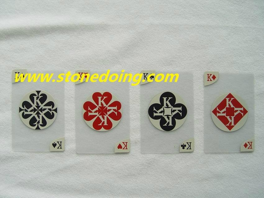 Mini Playing Cards in Plastic Tube Box 3